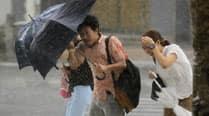 Downgraded typhoon heading toward Fukushimaplant