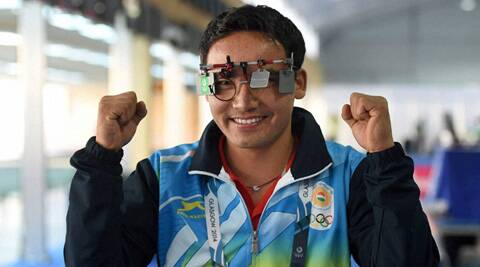 The 27 year old Rai was elated after he romped home with the gold in the (Source: PTI)