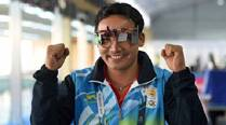 Born in Nepal, made in India: Jitu Rai wins pistol gold