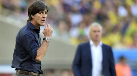 Germany coach Loew said all his players were exhausted after the match against France (Source: AP)