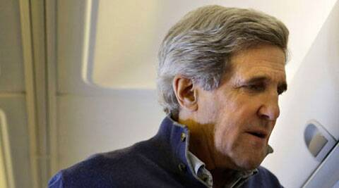 U.S. Secretary of State John Kerry planned to meet with Israeli Prime Minister Benjamin Netanyahu. (Source: Reuters)