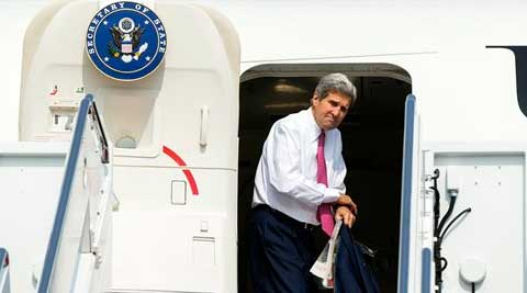 John Kerry on way to India, to set tone of Indo-US ties ahead of Modi's America visit