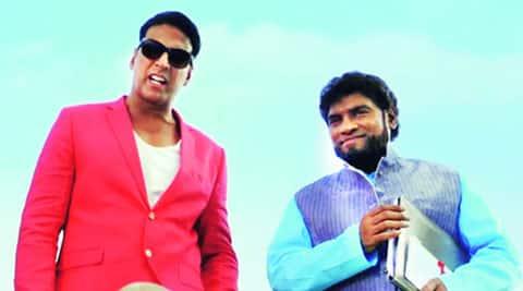 Akshay Kumar and Johny Lever in Entertainment