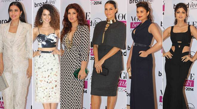 Black and White Vogue Diaries: Kajol, Kangana, Twinkle, Neha, Parineeti, Shilpa