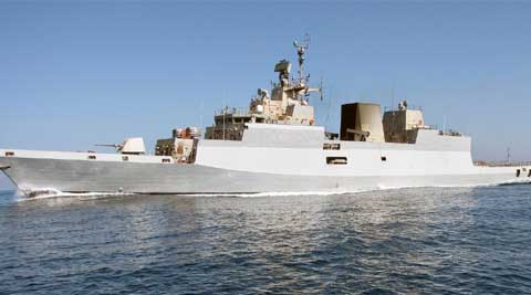 INS Kamorta, first in its class of four ASW corvettes being built by GRSE under Project-28 for the Navy, is the first warship ever built in the country with almost 90 per cent of indigenous content.