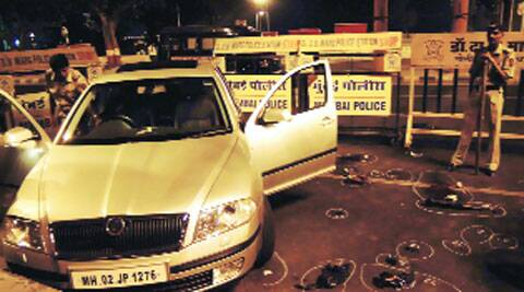 The car used by Kasab during 2008 Mumbai attack.