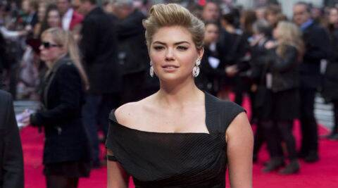 Kate Upton said she does not make enough effort to dress up for the paparazzi. (Source: Reuters)
