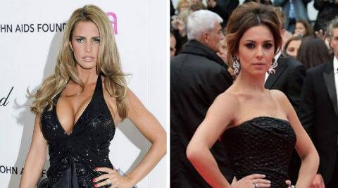Katie Price extended her best wishes to Cheryl Cole. (Source: Reuters)