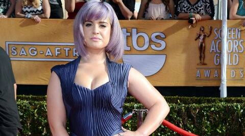 Kelly Osbourne was previously engaged to Matthew Mosshart. (Source: AP)