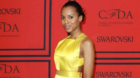 Kerry Washington: There is a real power in social media. (Source: Reuters)