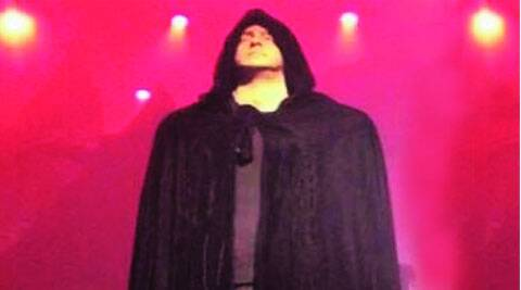 Salman Khan in the  devil's garb  for a song in Kick