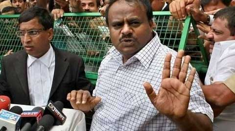 The 35-minute audio clip is a conversation between Kumaraswamy and the aspirant from Bijapur. (Source: PTI)