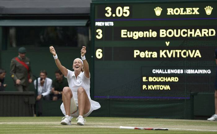 Wimbledon 2014: All too easy for Petra Kvitova in final