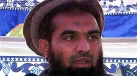 LeT operations commander Zakiur Rehman Lakhvi. (Source: AP)