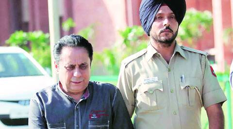 Dr Lalit Vermani in custody. (File photo)