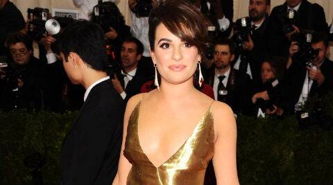 Lea Michele will play a truck stop waitress and single mother named Gertie. (Source: AP)