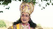 Nitish Bharadwaj plays Krishna in the play Chakravyuh
