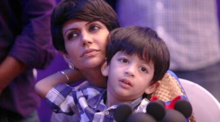 "Talking about her son's disinclining Mandira said, ""I am a 'kadak' mom that ways."""