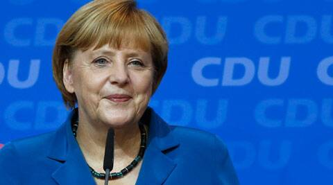 German Chancellor Angela Merkel. (Source: AP)