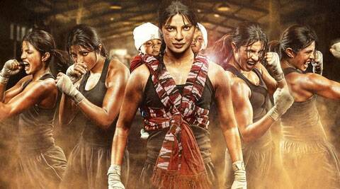 Priyanka Chopra, who will be seen playing boxing champion M.C. Mary Kom in a biopic, says essaying an athlete in a film was almost unthinkable for her.