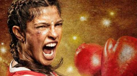Priyanka Chopra released the official teaser of the biopic 'Mary Kom'.