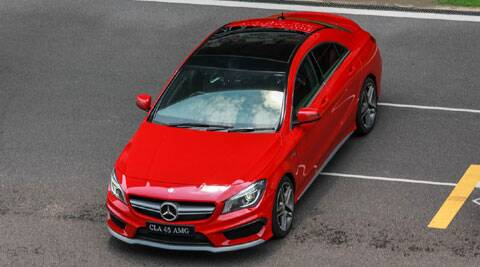 A Look At The Mercedes Benz Cla 45 Amg Auto Travel News The