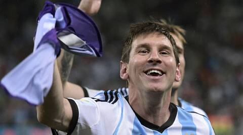 The Argentine number 10 was hardly at his best and had just few shots on target. (Source: AP)
