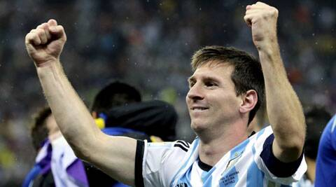 Can he be Argentina's hero. (Source: AP)