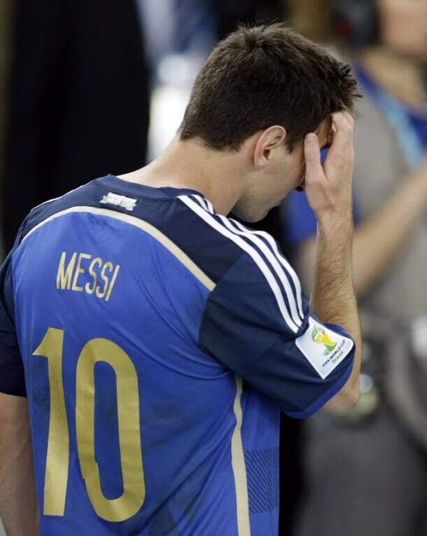 When it mattered most, Lionel Messi runs out of magic