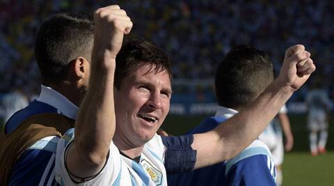 The film depicts the various stages of Messi's career, from playing in the streets in his home town of Rosario to the would-be professional battling a growth hormone deficiency. (Source: AP)