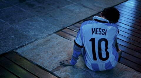 A Messi fan can't believe that his hero didn't deliver when it mattered (Source: Reuters)