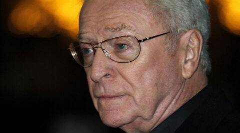 Michael Caine said he felt he was very bad on the first day of his shoot. (Source: Reuters)