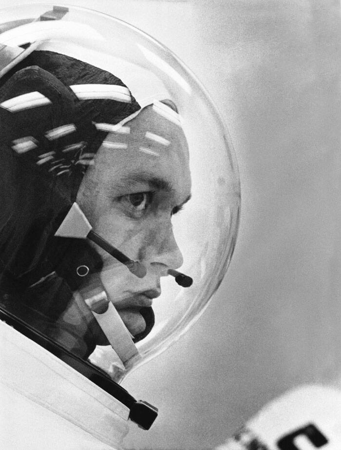 michael collins Michael collins, now 87, was picked by nasa to be an astronaut in 1963 his first spaceflight was aboard gemini 10 with john young in 1966, and flew again on apollo 11 in 1969, the first moon landing mission with crewmates neil armstrong and buzz aldrin.
