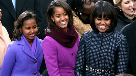 This is not the first time Michelle and her daughters were photographed at Beyonce's concert.