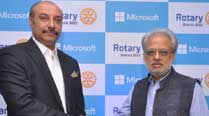 Microsoft and Rotary sign MoU to bring technology skills to 150 schools in Delhi NCR
