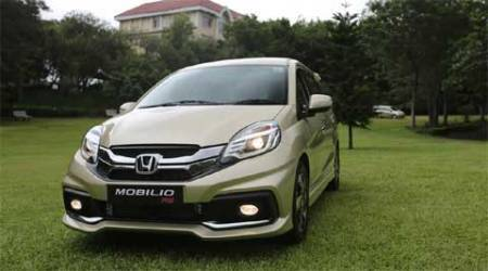 The Mobilio is based on the Brio platform but the wheelbase has been extended as compared to the Amaze.