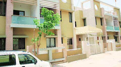Hiraba's new home at Kudasan in Gandhinagar. (Source: Express photo)