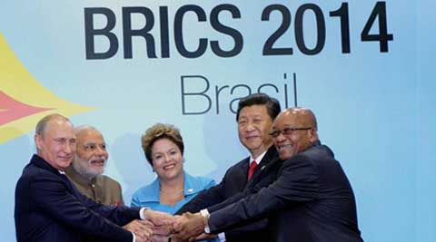 Modi said BRICS was the first grouping in the world based on future potential, and not on existing prosperity or shared identities. (Source: PTI)