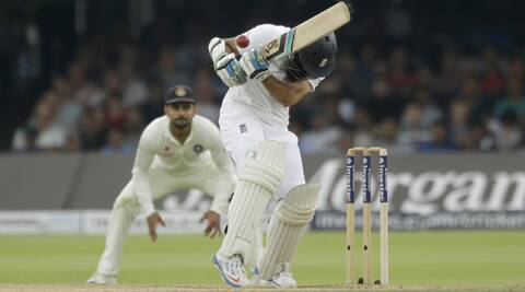 Ishant Sharma bowled a brilliant bouncer to get rid of Moeen Ali at the stroke of lunch on Day 5 (Source: AP)