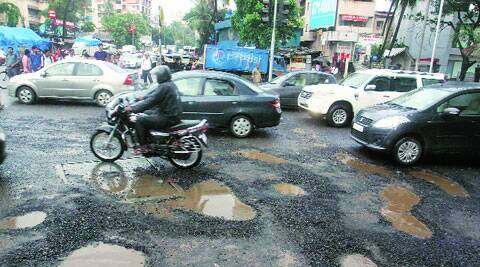 Before the onset of monsoon, the civic body spent over Rs 24 crore on pothole-filling contracts. Now, it is struggling to keep pace with repair works as over 700 potholes are still to be repaired.