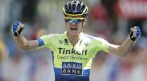 Australia's Michael Rogers wins 16th stage of Tour deFrance