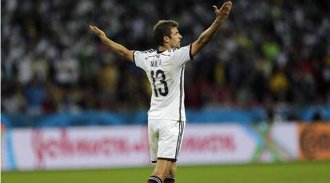 Thomas Mueller is Germany's leading goal-scorer with four goals. (Source: AP)
