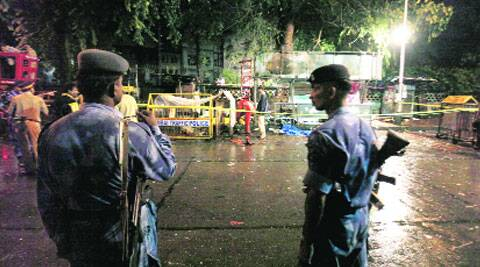 Blasts at 3 places killed 27 people on July 13, 2011.