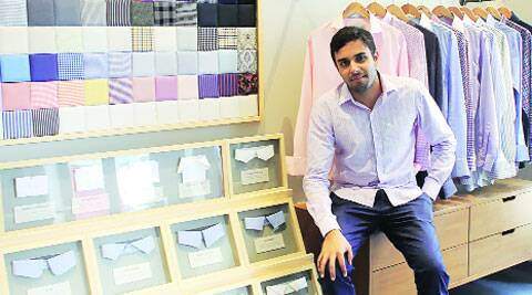 Online custom-made shirt brand launches a brick-and-mortar store ...