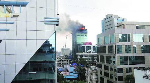 A major fire broke out last week in Lotus Business Park.