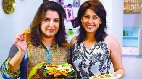 Farah Khan and Amrita Raichand bond over food
