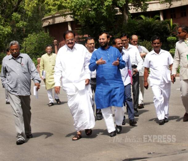 Today in pics: Budget Session begins amid protest over price rise