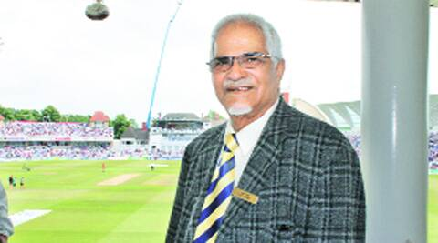 Nat Puri is president of the Nottinghamshire Cricket Club. Source: Express Photo