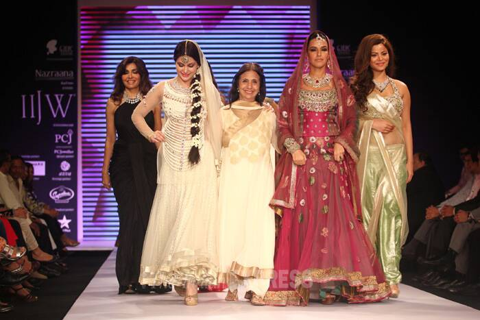 IIJW, a three-day event, is taking place at Grand Hyatt in Mumbai. (Source: Varinder Chawla)
