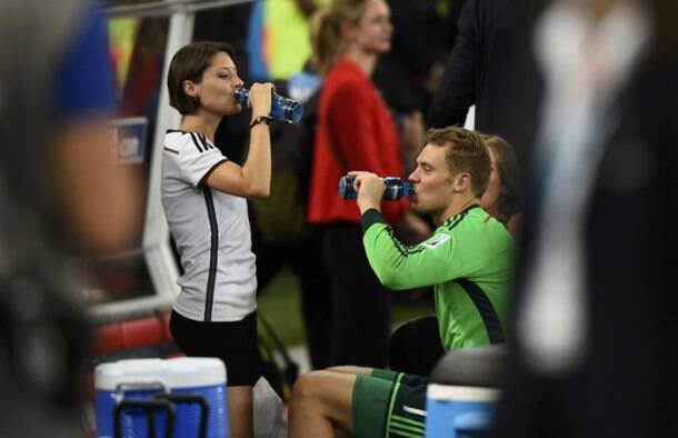 FIFA World Cup: Germany players express love after title win